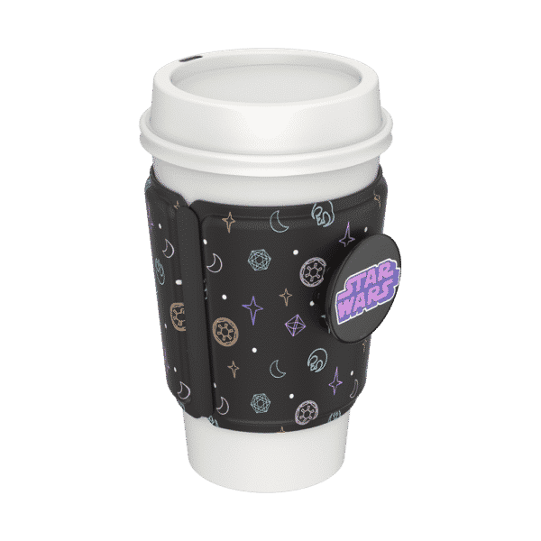 Cup sleeve star wars rebel pattern 03 collapsed