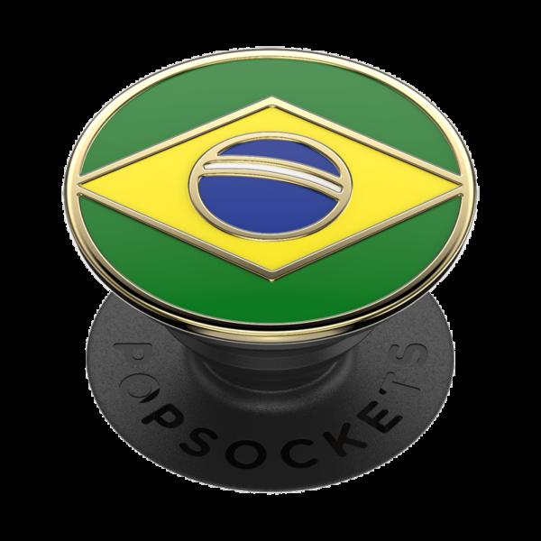 Enamel brazilian flag 02 grip
