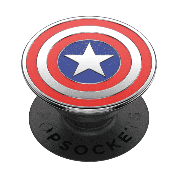 Enamel captain america 02 grip