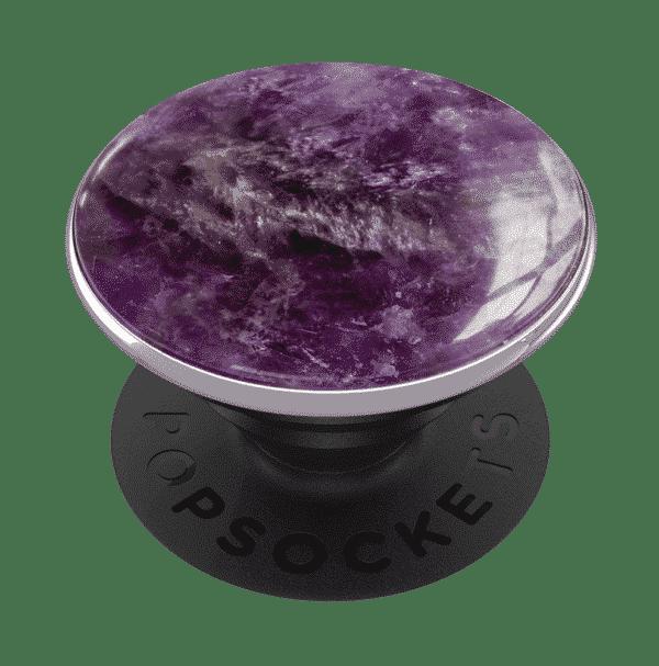 Genuine amethyst gemstone 02 grip
