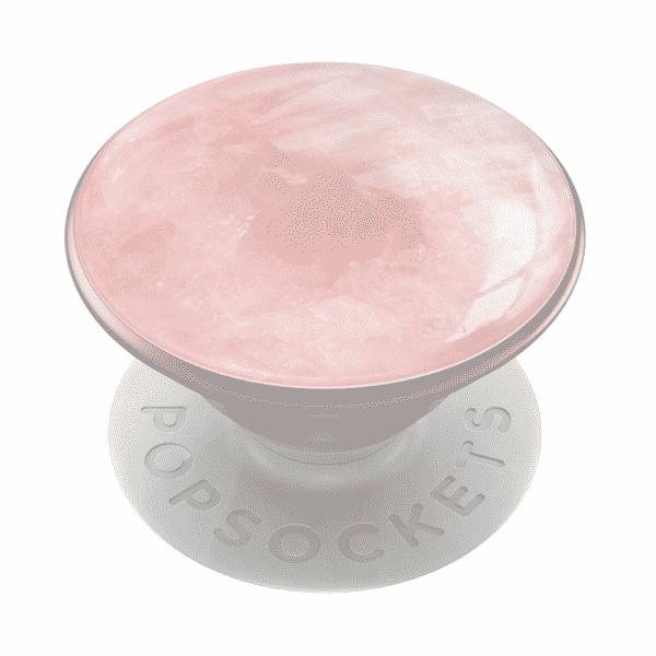Genuine rose quartz gemstone 02 grip