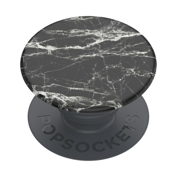 Basic black modern marble 02 grip