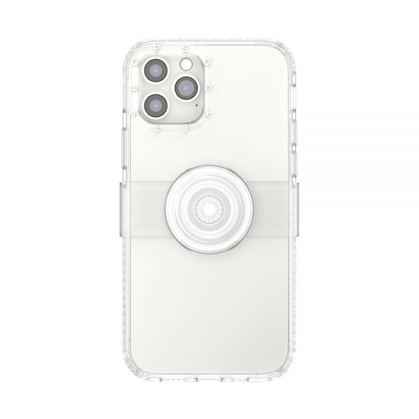 Popcase clear clear ip12 12pro 01c front device