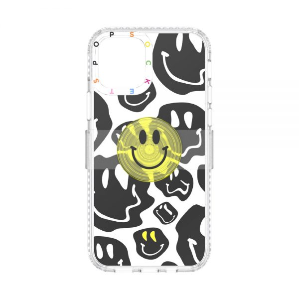 Popcase graphic all smiles ip12 12pro 01b front top