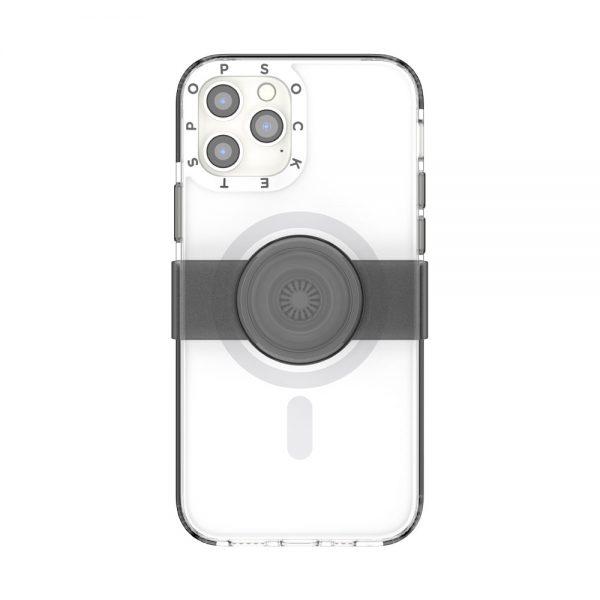 Popcase magsafe white ip12 12pro 01c front device